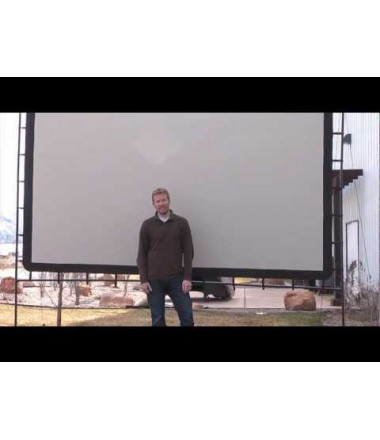 1080P BRIGHT 5000lMS PROJECTOR WITH 12 FOOT SCREEN RENTAL